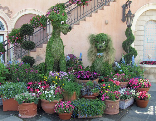 Lady & Tramp Epcot International Flower and Garden Festival
