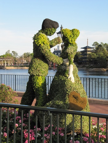 Cinderella Epcot International Flower and Garden Festival
