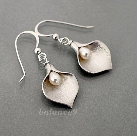 Lily Earrings Balance9 Etsy