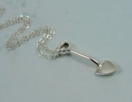 Shovel Necklace treasuredcharms
