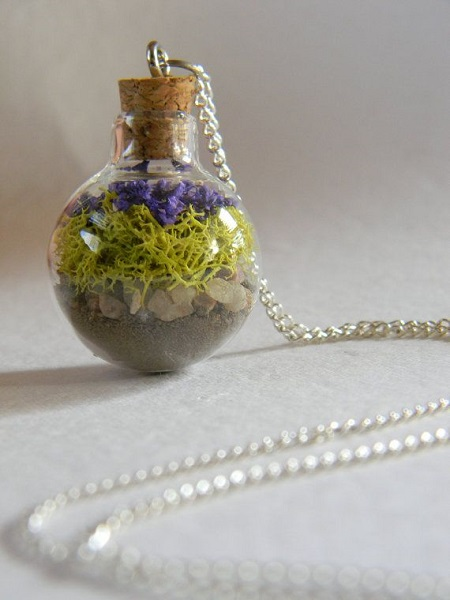 Terrarium Necklace FireflyGardens